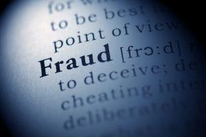 fraud definition photo