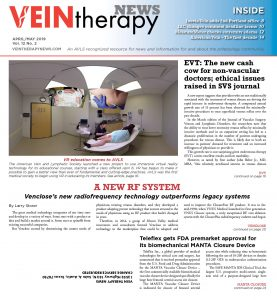 Vein Therapy News April/May 2019 cover