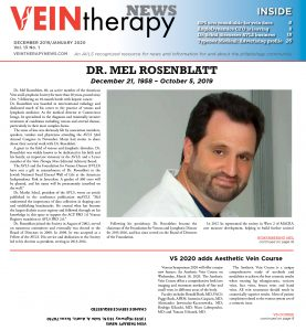 Vein Therapy News January 2020 cover